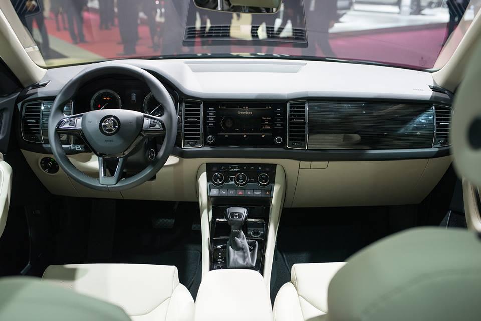 le koda kodiaq fait son entr e au mondial de l automobile de paris auto news dz. Black Bedroom Furniture Sets. Home Design Ideas