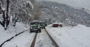 BMS chutes de neige jusqu'à mercredi matin au centre et à l'est du pays