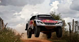 309 LOEB SEBASTIEN (fra) ELENA DANIEL (mco) PEUGEOT TEAM PEUGEOT TOTAL 3008 DKR action during the Dakar 2017 Paraguay Bolivia Argentina , Scrutineering / Vérifications from December  30 to 31 2016 at Asuncion, Paraguay - Photo Florent Gooden / DPPI