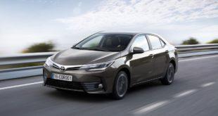 Toyota Corolla N°1 des ventes mondiales en 2016