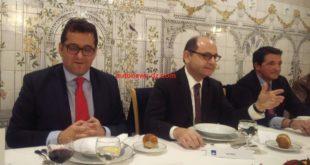 Adlane Mecellem, Jad Ariss  et Pierre Vasserot de gauche à droite,