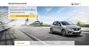 Renault-Symbol-précommande