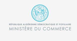 ministère du Commerce Algérie