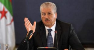 sellal-Algérie