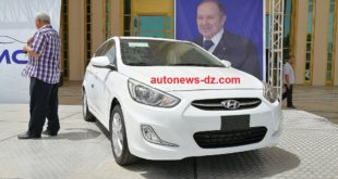 Hyundai made in Algeria