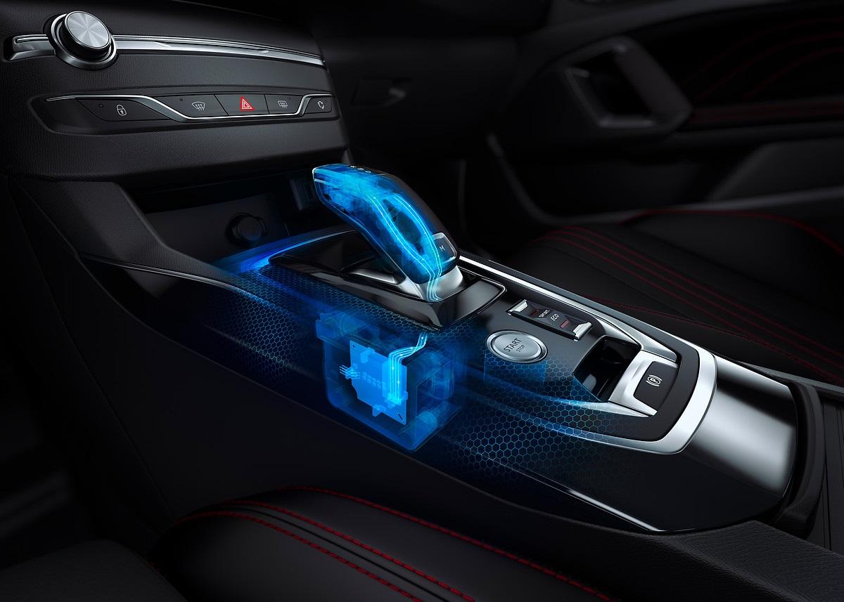 Peugeot nouvelle 308 intérieur 2017