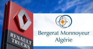 Bergerat Monnayeur Algérie, nouvel agent distributeur Renault Trucks