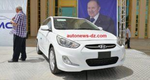 Cima Motors :  Hyundai expose au marché de la Solidarité UGTA