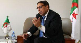 Mahdjoub Bedda, ministre de l'Industrie et des mines