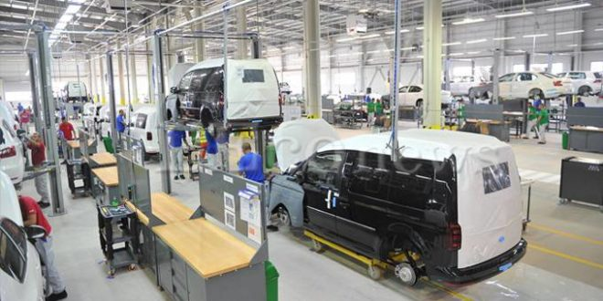 Volkswagen Caddy SOVAC Production2