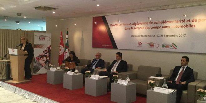 Rencontre tuniso alg rienne dans le secteur automobile for Chambre de commerce algerienne