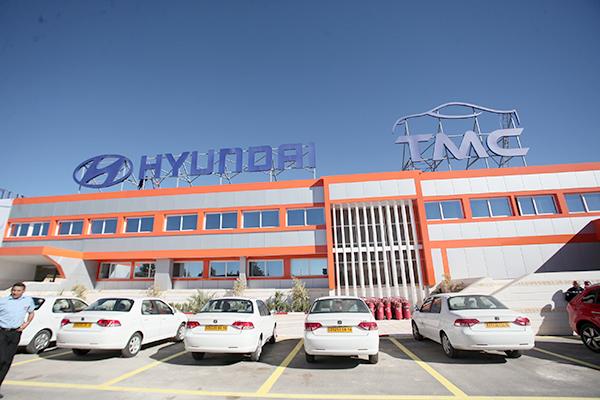 usine hyundai tahkout manufacturing company tmc un an d j auto news dz. Black Bedroom Furniture Sets. Home Design Ideas