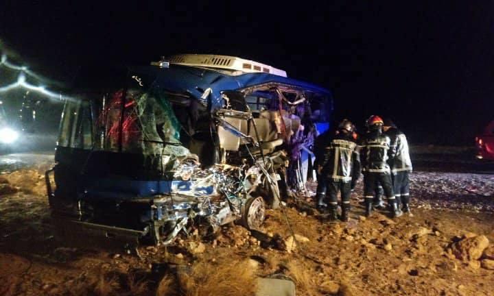 accident bus Djelfa