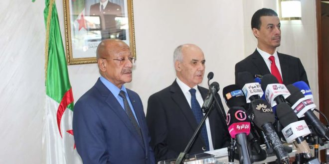 Youcef Yousfi, ministre de l'Industrie Algérie et wali d'Alger Zoukh