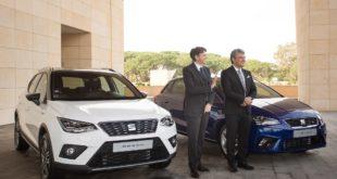 Luca de Meo, Président de SEAT,  et Mourad Oulmi,  PDG de SOVAC et SOVAC Production.