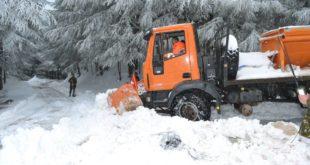 chute de neige Algérie