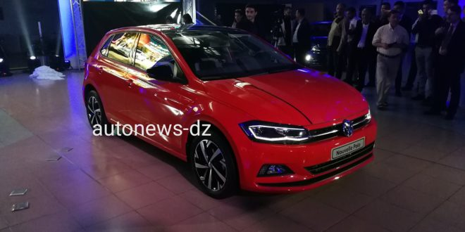 sovac alg rie la volkswagen nouvelle polo carat dans le catalogue auto news dz. Black Bedroom Furniture Sets. Home Design Ideas